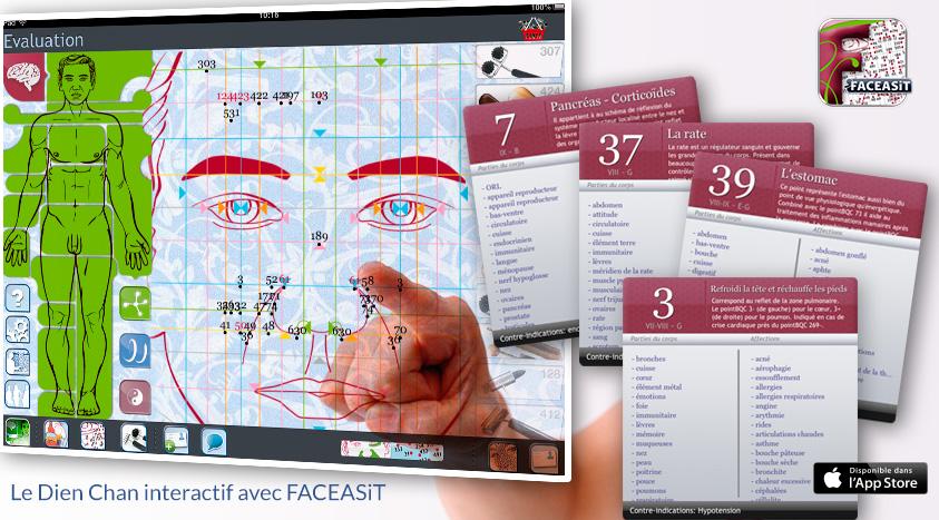 face reflexology points